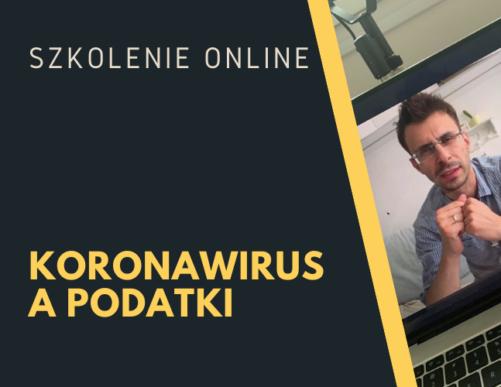Koronawirus a ustawy podatkowe