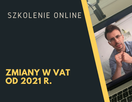 Zmiany VAT 2021